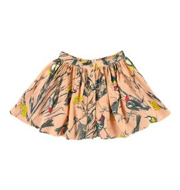 Morley Aria birds floral skirt