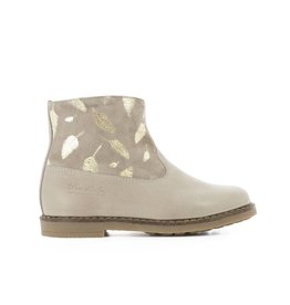Pom d'Api Trip boots feather taupe gold