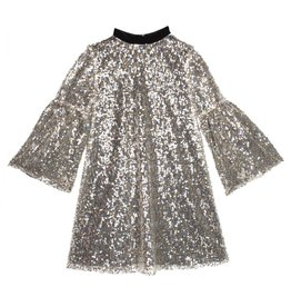 Wild & Gorgeous Sequin Hannah Dress - Silver