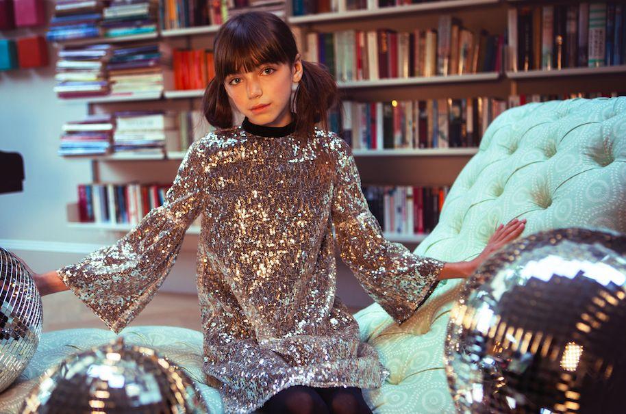 Wild & Gorgeous Sequin Hannah Dress - Silver