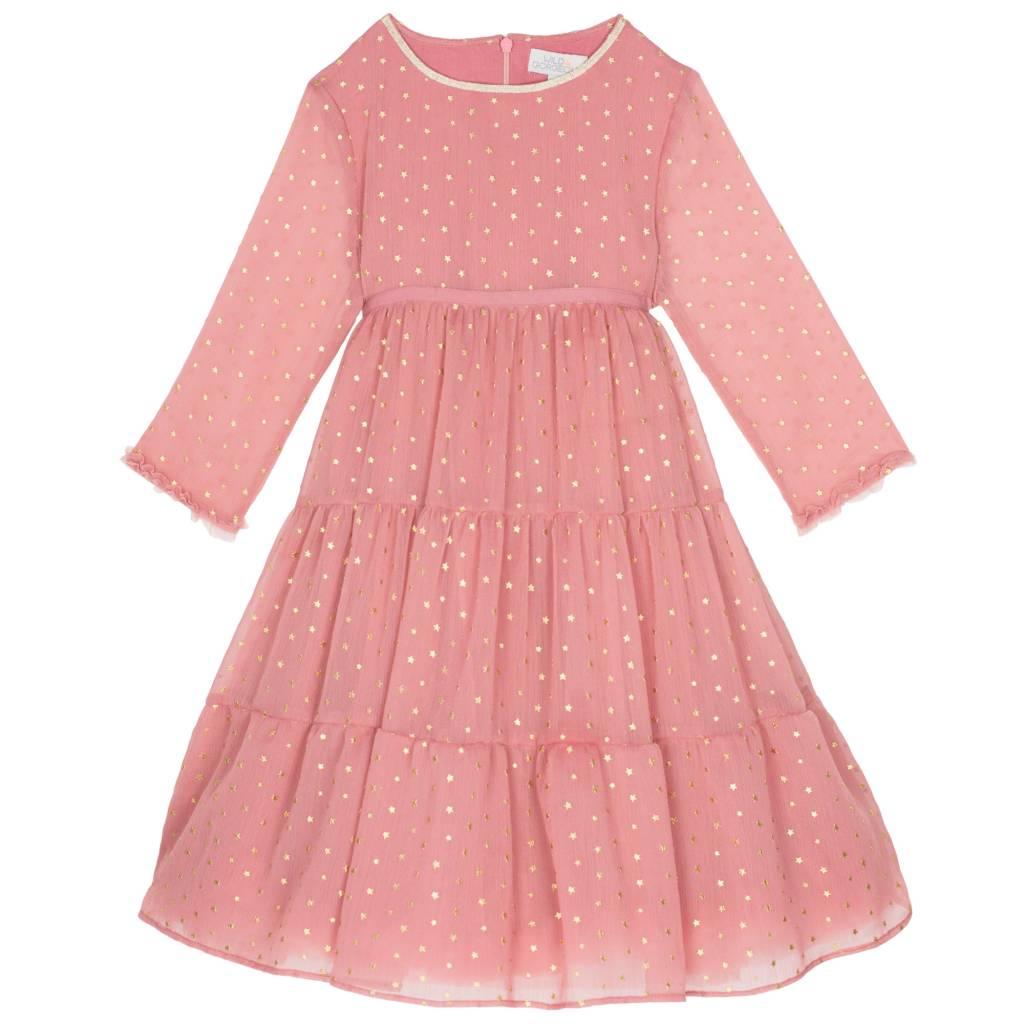 Wild & Gorgeous Star Priscilla Dress - Dusty Pink