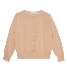 Wild & Gorgeous Lurex Cardi - Peach
