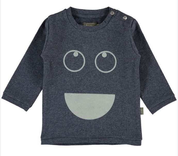 Kids Case Sam blue tee