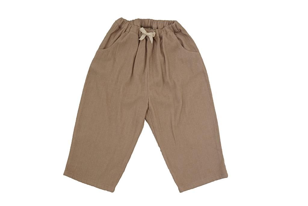 Tambere Beige Drawstring Pant