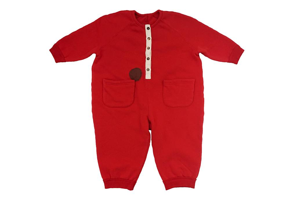 Tambere Red Jumpsuit