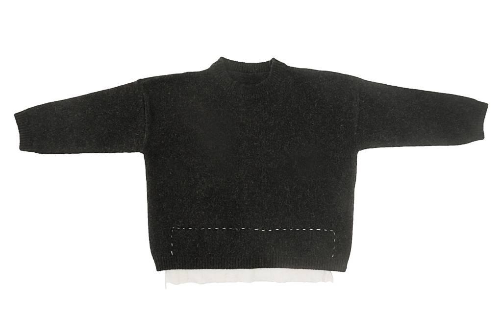 Tambere Black Stitch Pullover