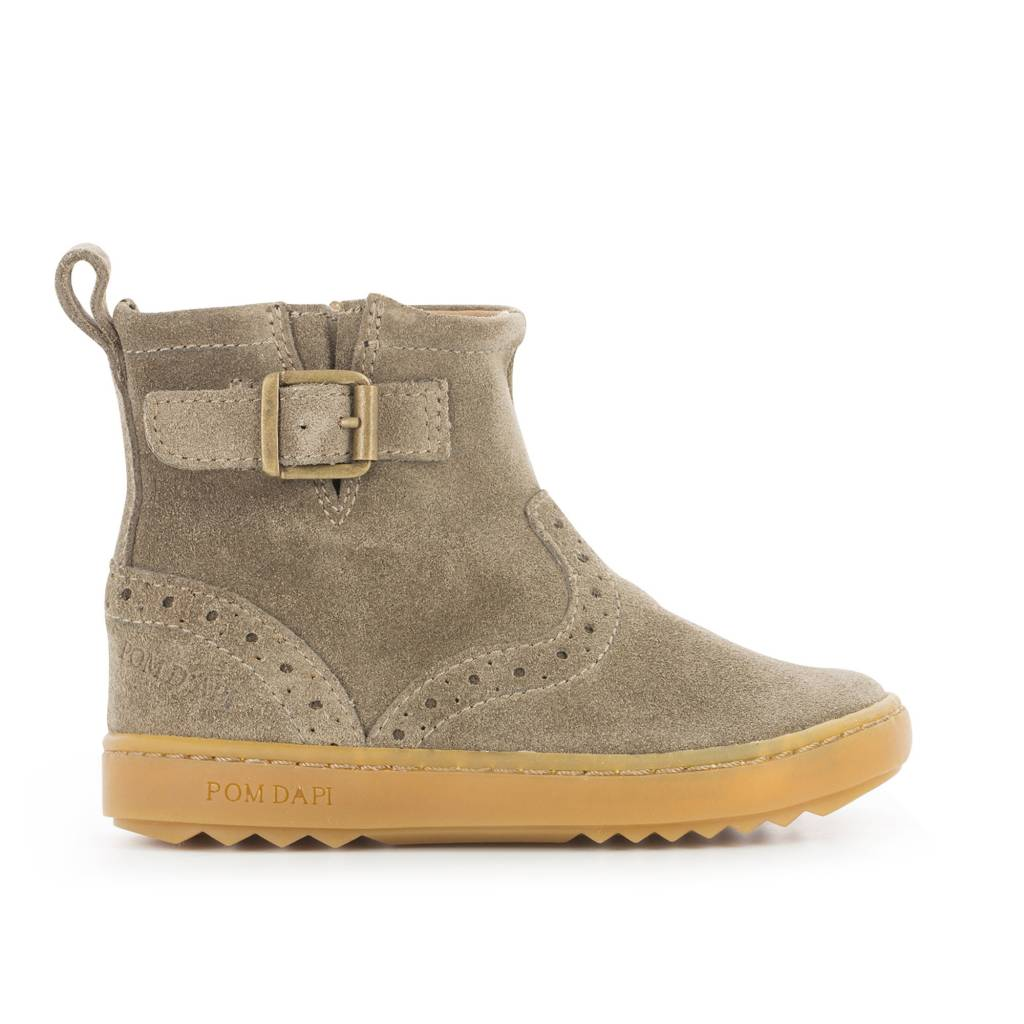 Pom d'Api Wouf Boots Taupe