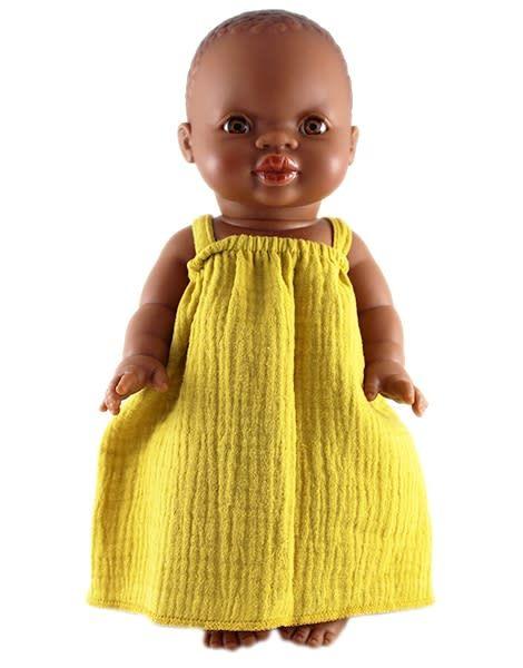 minikane Mustard Baby Doll Dress