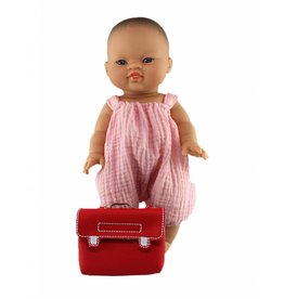 minikane Pink Doll Bloomer Onesie