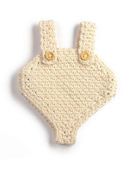 minikane Crocheted Doll Romper