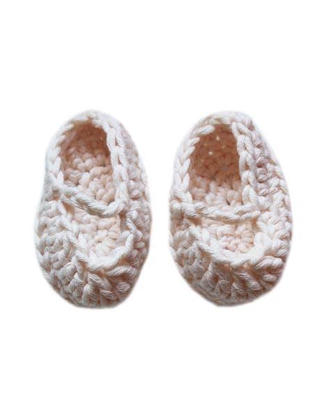 minikane Crocheted Doll Slippers