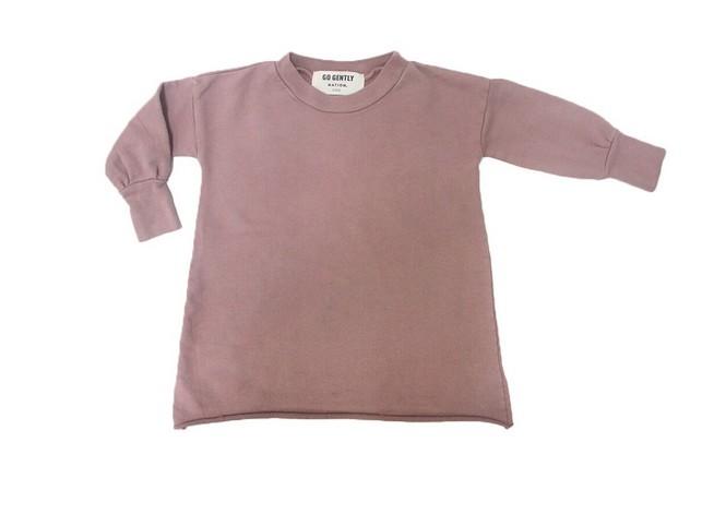 Go Gently Baby Cinnamon Puff Sleeve Dress