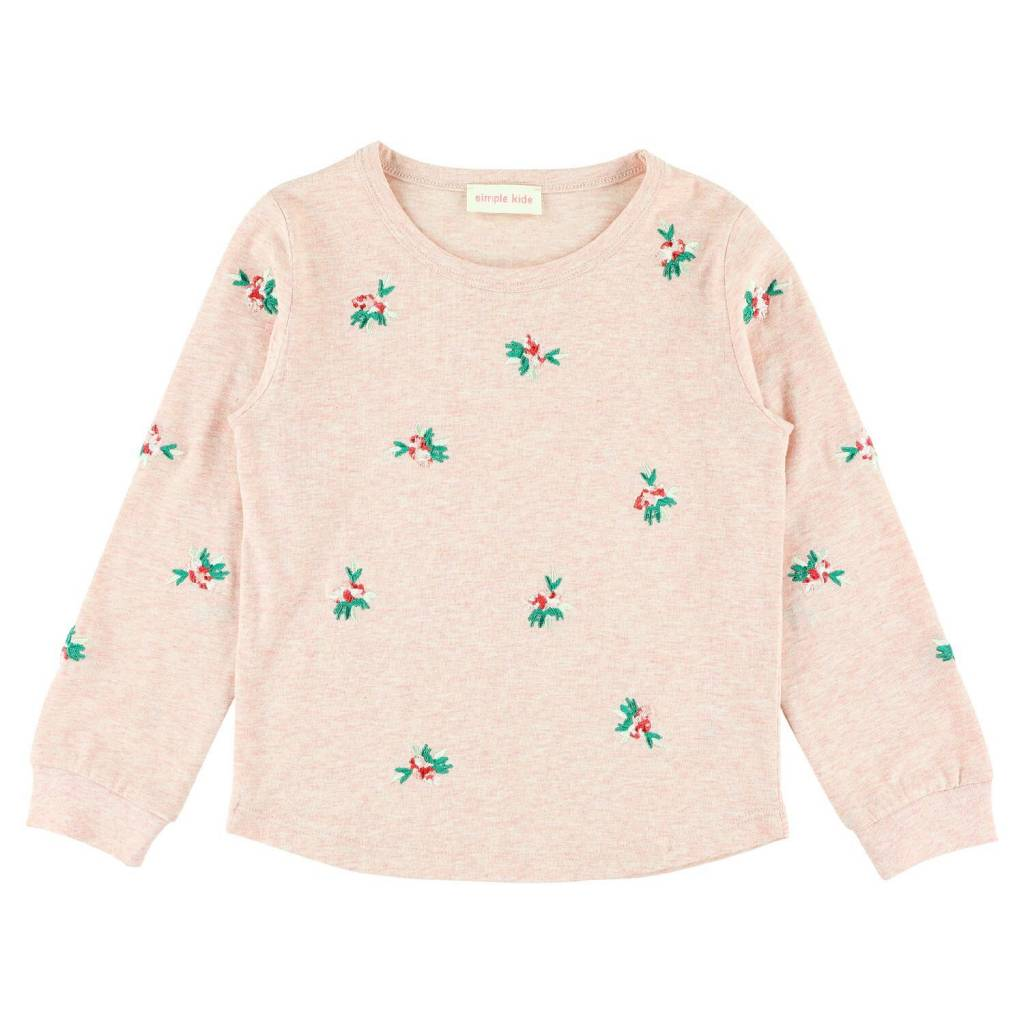 Simple Kids Flower T-Shirt