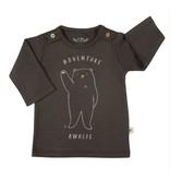 Red Caribou Buttons Tee-Shirt Black Bear