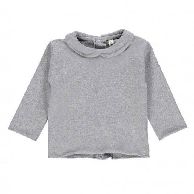 Gray Label Collar tee-Shirt grey