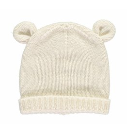 Oliver baby Cashmere Bear Hat Cream