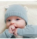Oliver baby Cashmere Bear Hat Blue
