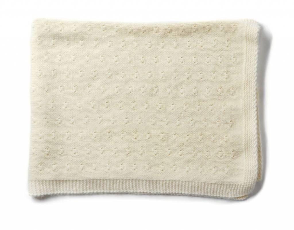 Oliver baby Cashmere Cream Blanket