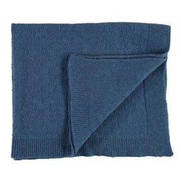Oliver baby Cashmere Blanket Blue