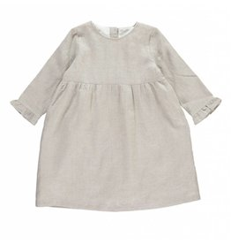 Oliver baby Vera Dress Gold Linen