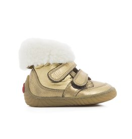 Pom d'Api Woody Easy Fur Gold/Off White