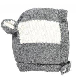 Oliver baby Cashmere Bonnet Badger