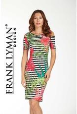 Frank Lyman Frank Lyman Floral Stripe