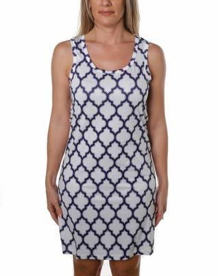Jean-Pierre Klifa JPK Key Hole Trellis Dress
