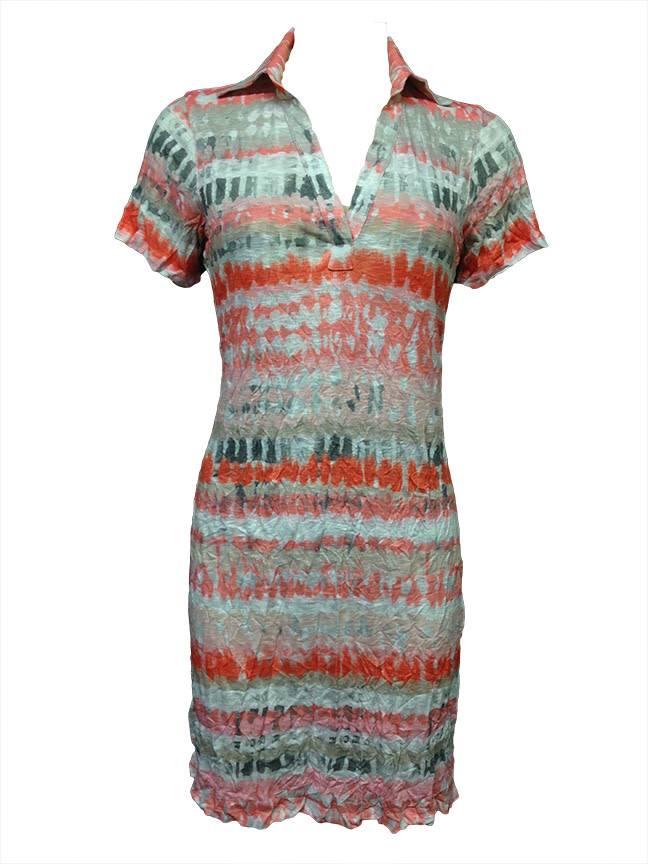 David Cline David Cline Tribal Polo Dress