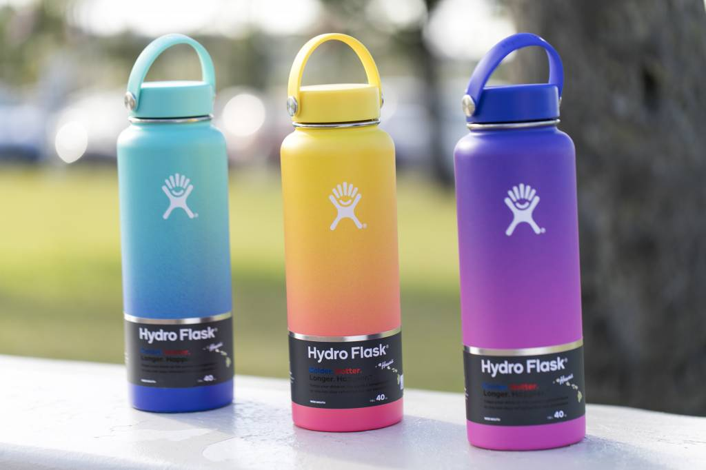 HYDRO FLASK 40 oz WIDE MOUTH W/FLEX CAP (808 Collection)