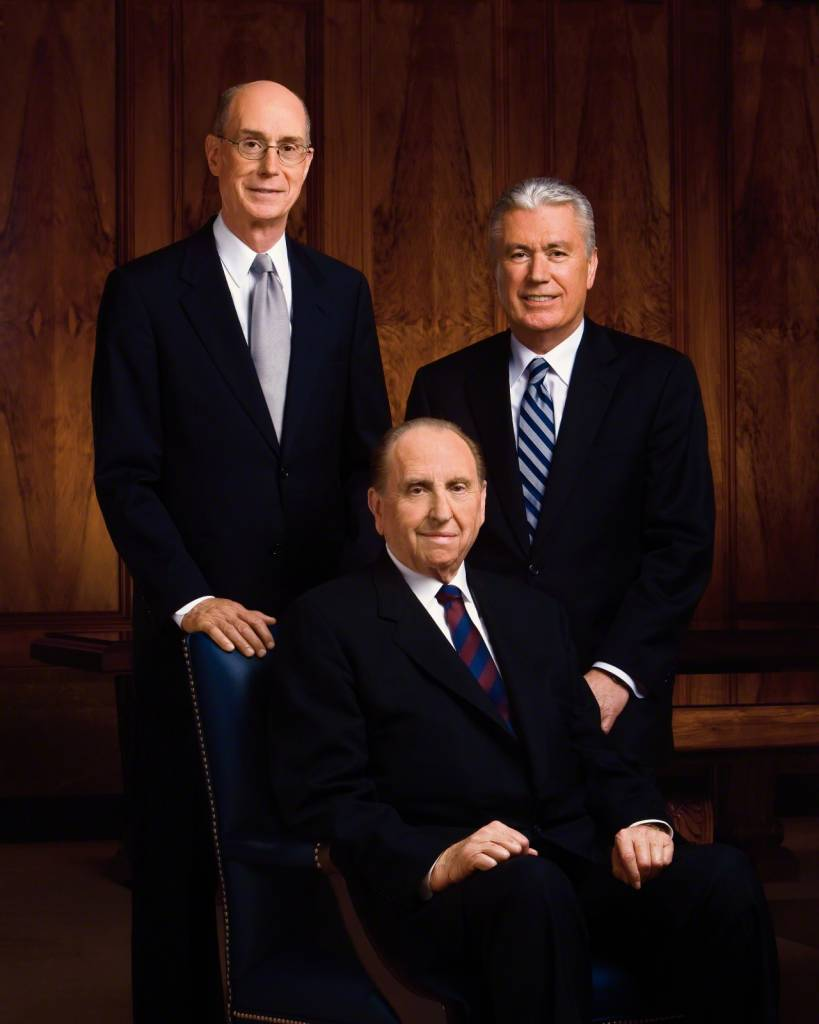 DISC First Presidency Picture 5x7 Monson