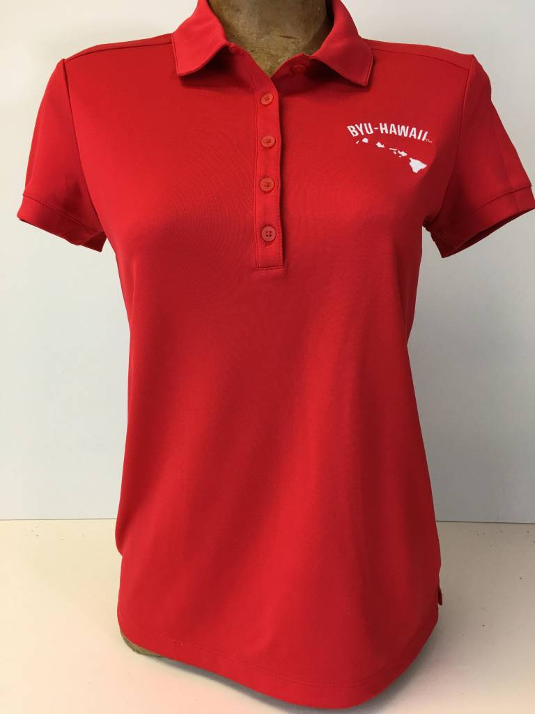 SP17 GW1010-RED VICTORY SOLID POLO Women