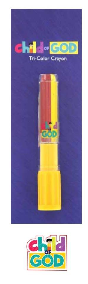 DISC Child of God Tri-Color Crayon
