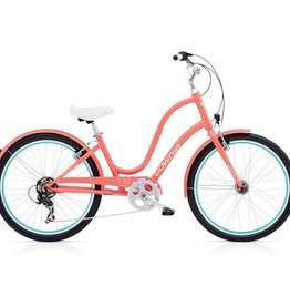 "Electra Townie Original 7D EQ Coral - Ladies 26"" 2018"