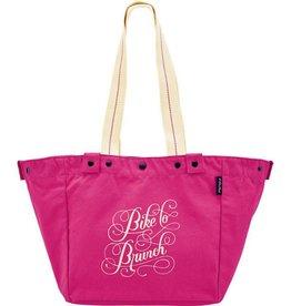 Electra Tote Bag Bike to Brunch Pink