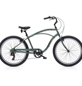 """Electra Cruiser Lux 7D Mens Anthracite 26"""" - 2018"""