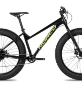 Norco Bigfoot 6.3 Rigid Black/Green Large frame 2017