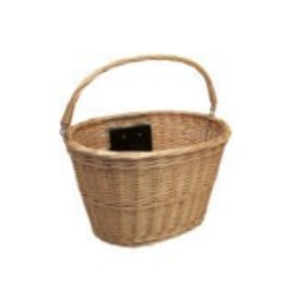 BASKET ELECTRA QR WICKER NATURAL FRONT