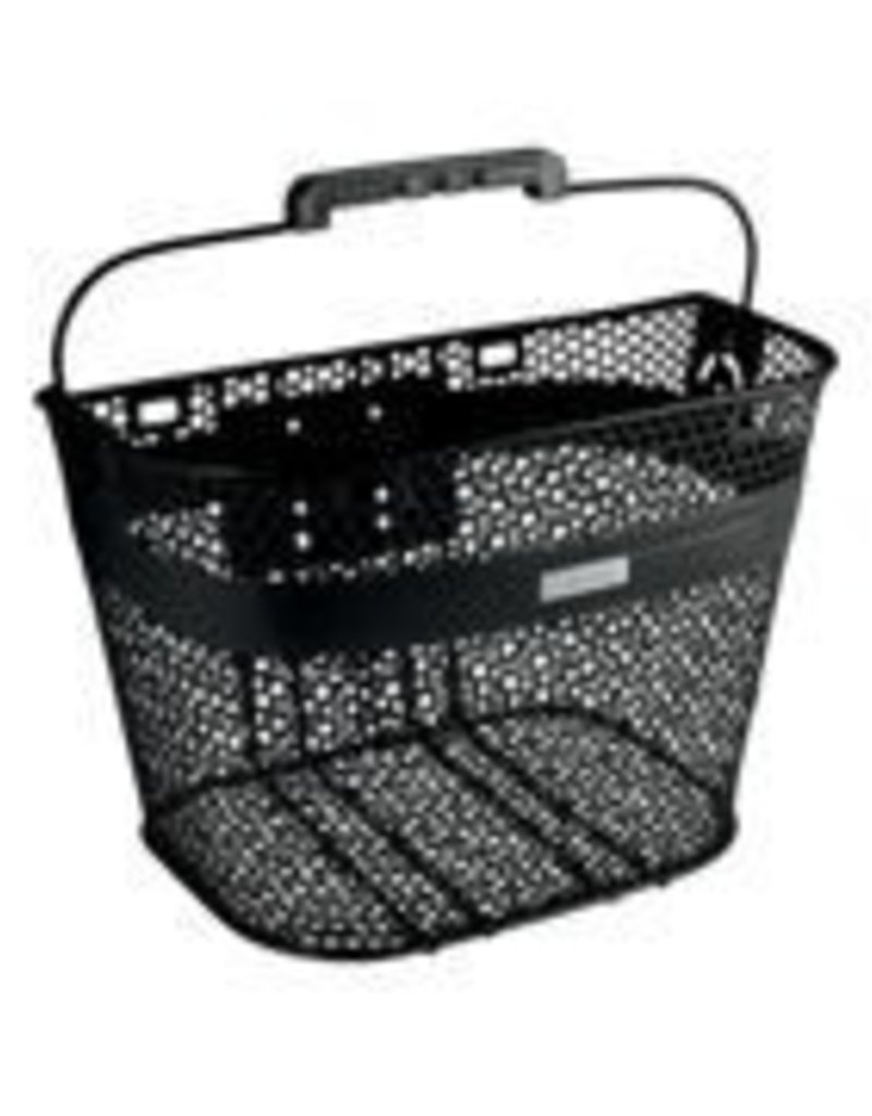 BASKET ELECTRA LINEAR QR MESH BLACK