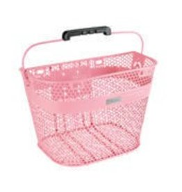 BASKET ELECTRA LINEAR QR MESH LIGHT PINK