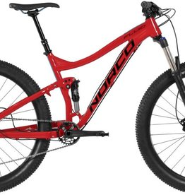Norco FLUID 7.2 PLUS FAT L RED/BLUE RED/BLUE 2017