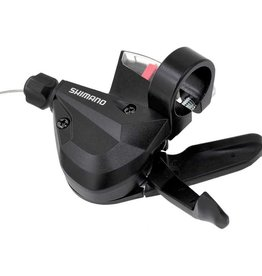 Shimano Shift Lever, SL-M310, LEFT 3-SPEED 1800MM STAINLESS INNER, W/ OPTICAL GEAR DISPLAY