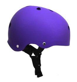 Helmet - Matte Purple w/ Black Strap - X-Small