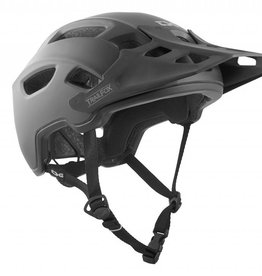 TSG TRAILFOX HELMET SATIN BLACK L/XL 57 - 59CM