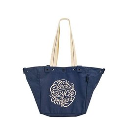 BAG ELECTRA BASKET TOTE ELECTRA SCRIPT ONE SIZE NAVY