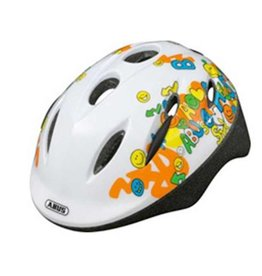 Abus Helmet, Smooty, Smiley White, Medium 50 - 55cm