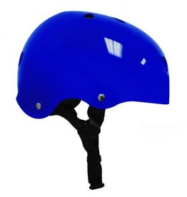 Helmet - Gloss Deep Blue w/ Black Strap - Small