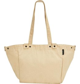 BAG ELECTRA WAXED CANVAS BASKET BAG NATURAL