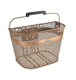 BASKET ELECTRA LINEAR QR MESH MATTE COPPER