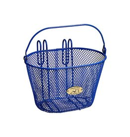 Basket Nantucket Surfside Child Wire Blue
